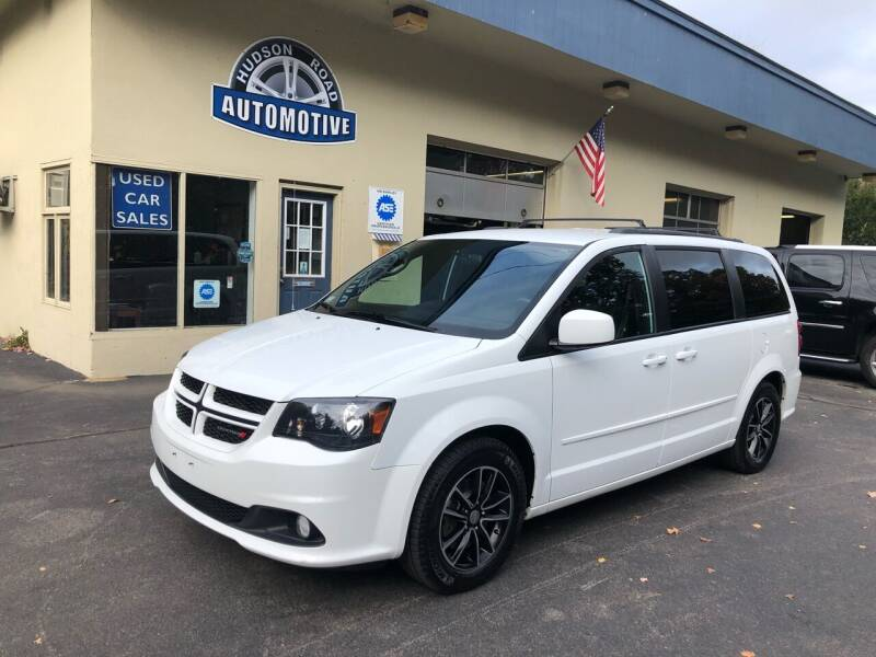 2016 Dodge Grand Caravan for sale at HUDSON ROAD AUTOMOTIVE in Stow MA