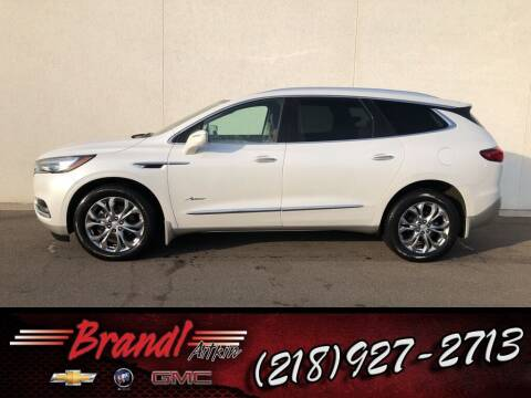 2018 Buick Enclave for sale at Brandl GM in Aitkin MN