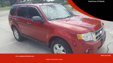 2010 Ford Escape for sale at Used Autos of Orlando in Orlando FL