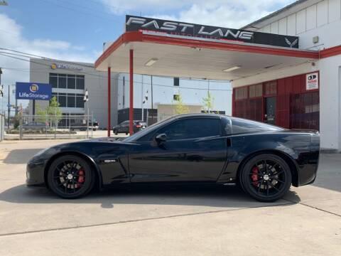2009 Chevrolet Corvette for sale at FAST LANE AUTO SALES in San Antonio TX