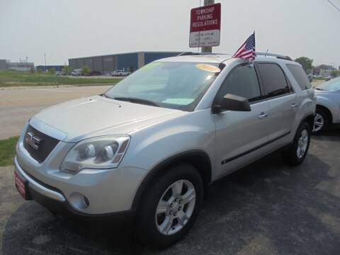 2010 GMC Acadia for sale at Century Auto Sales LLC in Appleton WI