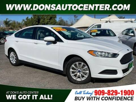 2016 Ford Fusion for sale at Dons Auto Center in Fontana CA