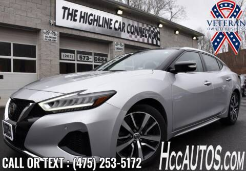 2019 Nissan Maxima for sale at The Highline Car Connection in Waterbury CT