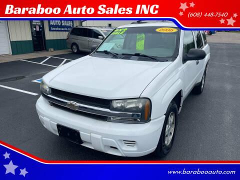 2006 Chevrolet TrailBlazer for sale at Baraboo Auto Sales INC in Baraboo WI