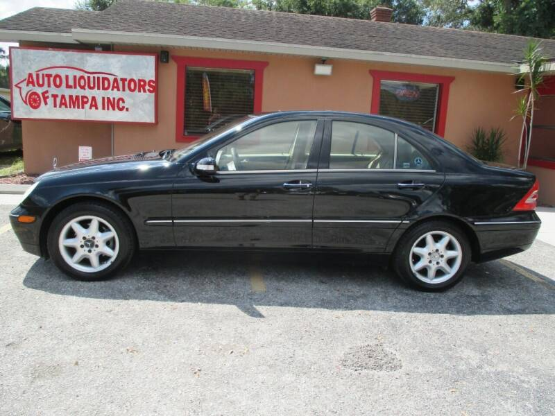 2003 Mercedes-Benz C-Class for sale at Auto Liquidators of Tampa in Tampa FL