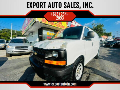 2012 Chevrolet Express Cargo for sale at EXPORT AUTO SALES, INC. in Nashville TN