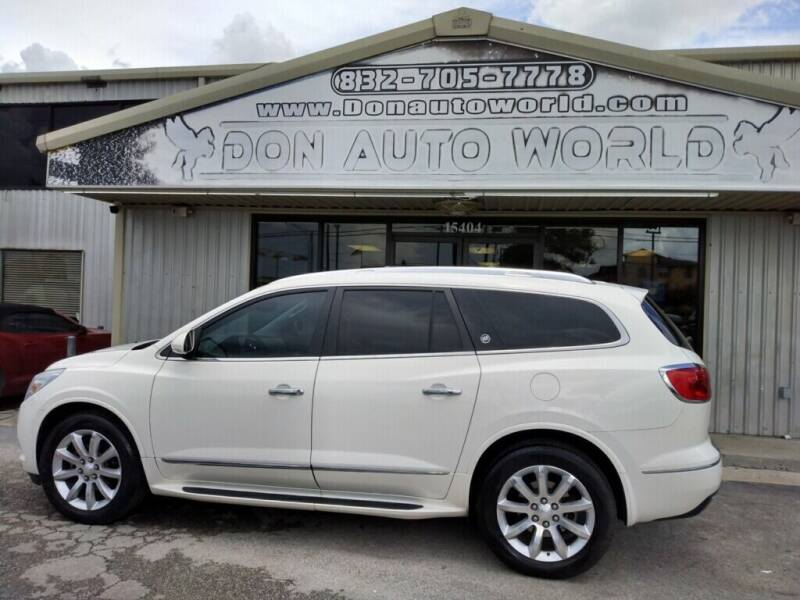 2014 Buick Enclave for sale at Don Auto World in Houston TX