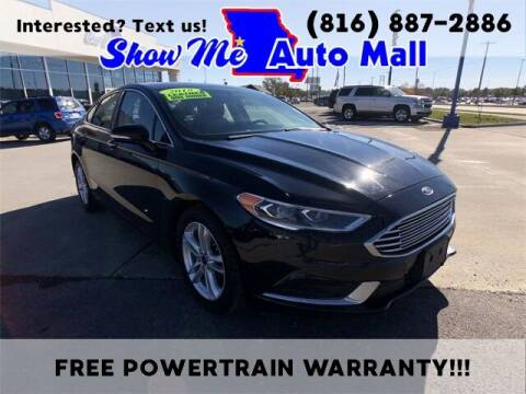 2018 Ford Fusion for sale at Show Me Auto Mall in Harrisonville MO