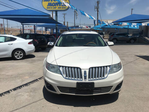 2009 Lincoln MKS for sale at Autos Montes in Socorro TX