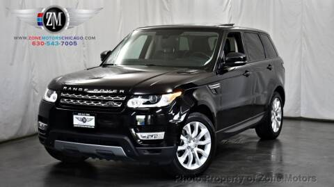 2014 Land Rover Range Rover Sport for sale at ZONE MOTORS in Addison IL