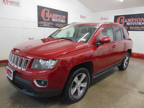 2016 Jeep Compass for sale at Champion Motors in Amherst NH