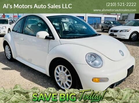 2004 Volkswagen New Beetle for sale at Al's Motors Auto Sales LLC in San Antonio TX