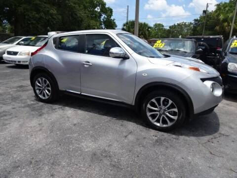 2012 Nissan JUKE for sale at DONNY MILLS AUTO SALES in Largo FL