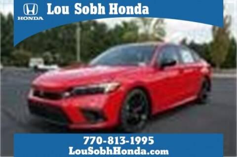 2022 Honda Civic for sale at Lou Sobh Honda in Cumming GA