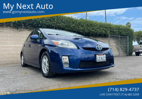 2010 Toyota Prius for sale at My Next Auto in Anaheim CA