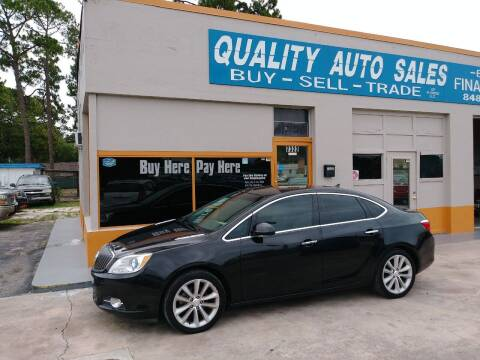 2014 Buick Verano for sale at QUALITY AUTO SALES OF FLORIDA in New Port Richey FL