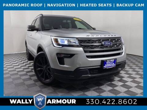 2018 Ford Explorer for sale at Wally Armour Chrysler Dodge Jeep Ram in Alliance OH