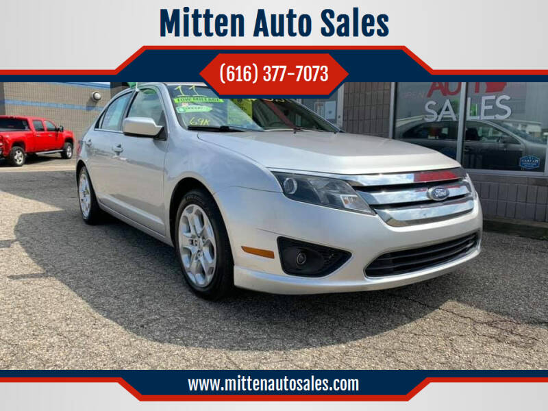 2011 Ford Fusion for sale at Mitten Auto Sales in Holland MI
