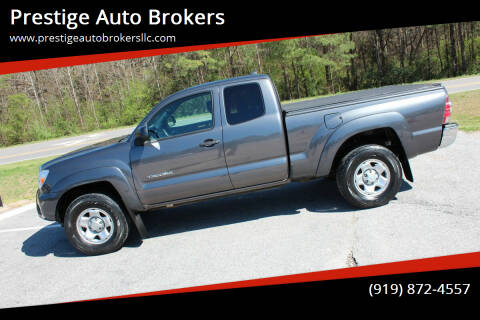 2012 Toyota Tacoma for sale at Prestige Auto Brokers in Raleigh NC