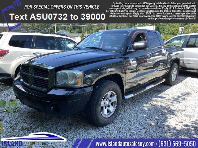 2007 Dodge Dakota for sale at Island Auto Sales in East Patchogue NY