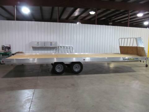 2022 Aluma 8624H SNOW TRAILER for sale at Flaherty's Hi-Tech Motorwerks in Albert Lea MN