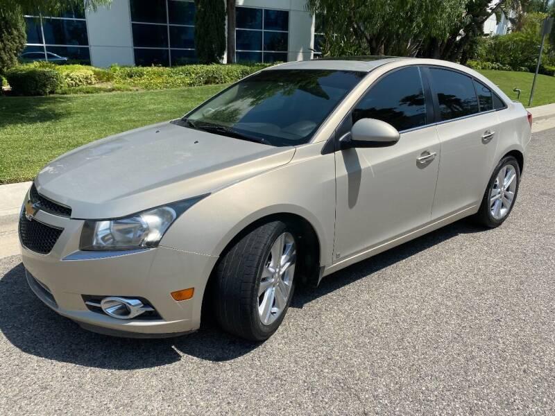 2012 Chevrolet Cruze for sale at Donada  Group Inc in Arleta CA