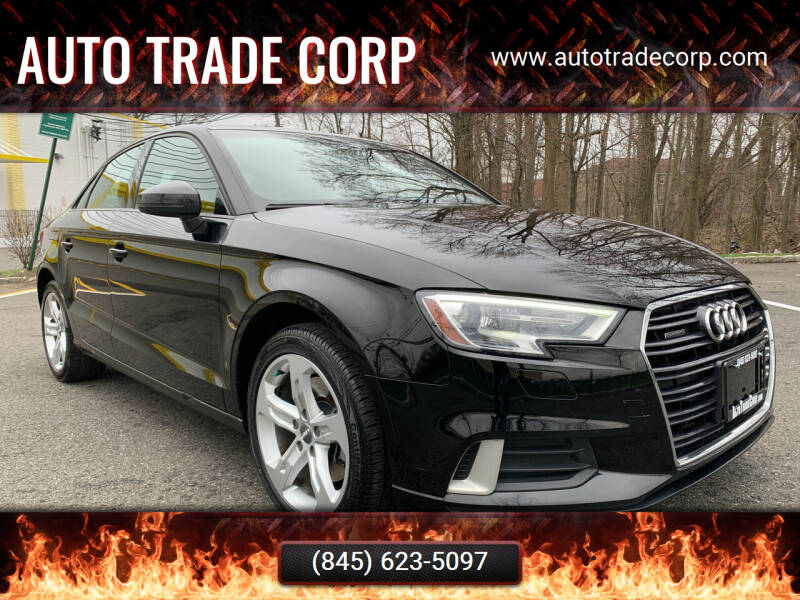 2017 Audi A3 for sale at AUTO TRADE CORP in Nanuet NY