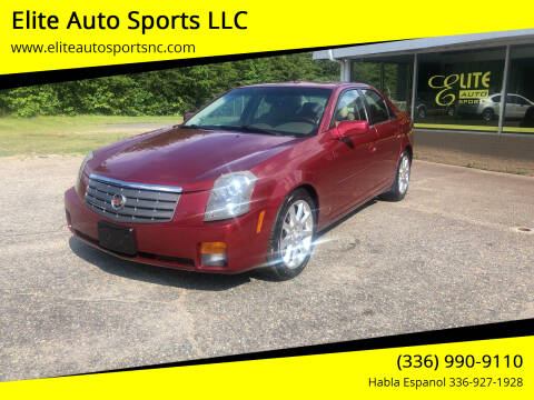 2006 Cadillac CTS for sale at Elite Auto Sports LLC in Wilkesboro NC