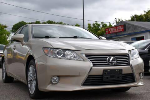 2013 Lexus ES 350 for sale at Wheel Deal Auto Sales LLC in Norfolk VA