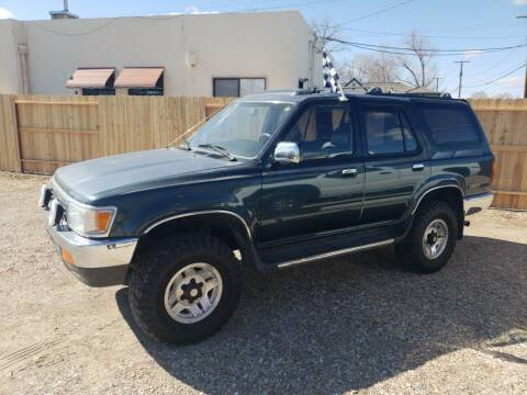 1994 Toyota 4Runner for sale at CHURCHILL AUTO SALES in Fallon NV