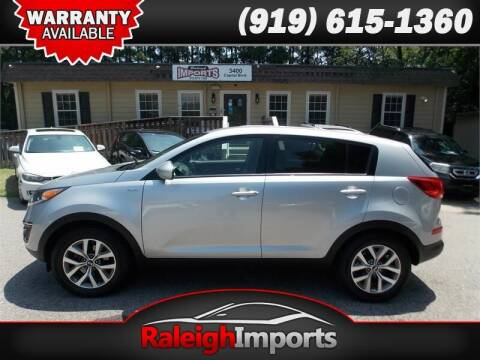 2016 Kia Sportage for sale at Raleigh Imports in Raleigh NC