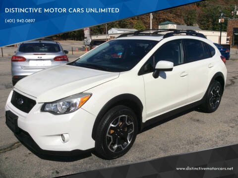 2015 Subaru XV Crosstrek for sale at DISTINCTIVE MOTOR CARS UNLIMITED in Johnston RI