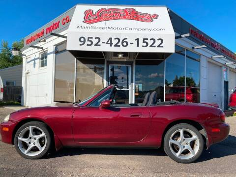 2003 Mazda MX-5 Miata for sale at Mainstreet Motor Company in Hopkins MN