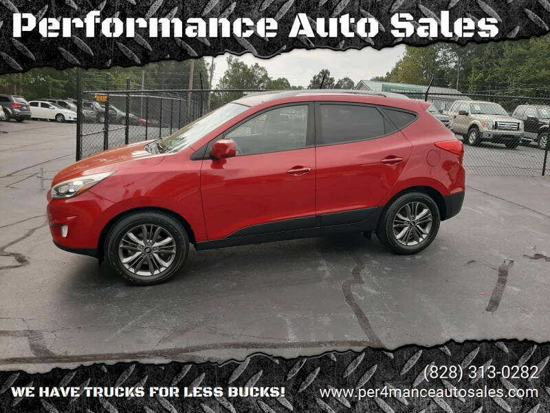 2014 Hyundai Tucson for sale at Performance Auto Sales in Hickory NC