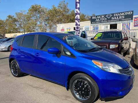 2015 Nissan Versa Note for sale at Black Diamond Auto Sales Inc. in Rancho Cordova CA