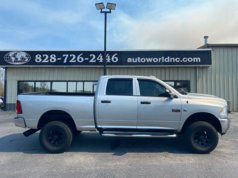 2012 RAM Ram Pickup 2500 for sale at AutoWorld of Lenoir in Lenoir NC