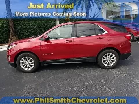 2020 Chevrolet Equinox for sale at PHIL SMITH AUTOMOTIVE GROUP - Phil Smith Chevrolet in Lauderhill FL