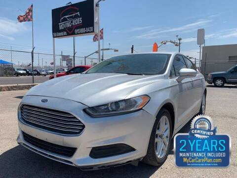 2014 Ford Fusion for sale at Moving Rides in El Paso TX