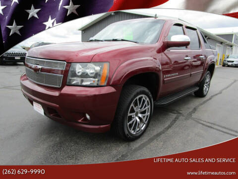 2008 Chevrolet Avalanche for sale at Lifetime Auto Sales and Service in West Bend WI