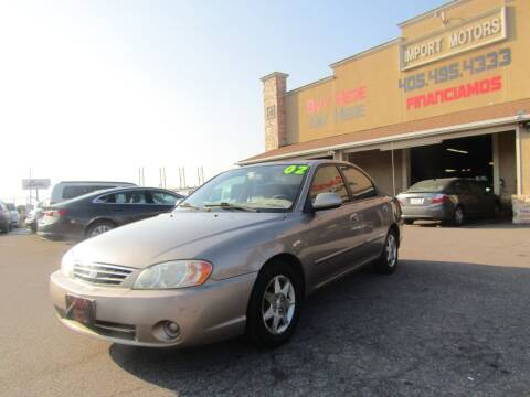 2002 Kia Spectra for sale at Import Motors in Bethany OK