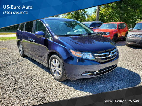 2017 Honda Odyssey for sale at US-Euro Auto in Burton OH