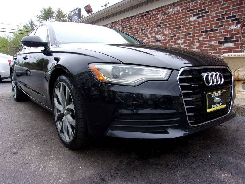 2013 Audi A6 for sale at Certified Motorcars LLC in Franklin NH