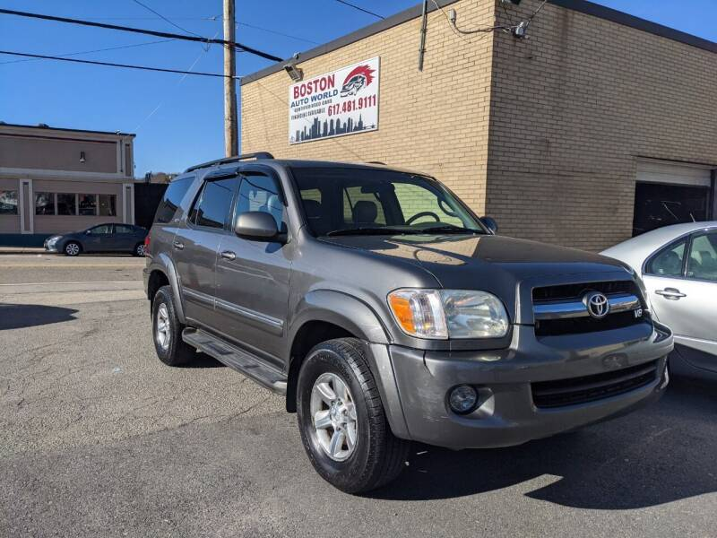 2005 Toyota Sequoia for sale at Boston Auto World in Quincy MA