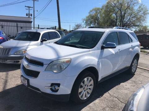 2010 Chevrolet Equinox for sale at DRIVE N BUY AUTO SALES in Ogden UT