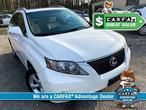 2011 Lexus RX 350 for sale at High Rated Auto Company in Abingdon MD
