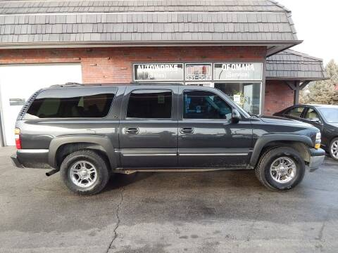 2003 Chevrolet Suburban for sale at AUTOWORKS OF OMAHA INC in Omaha NE