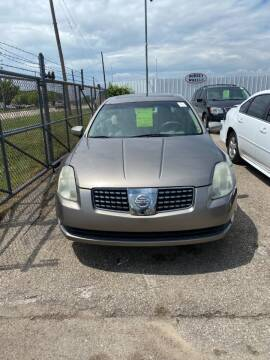 2005 Nissan Maxima for sale at WELLER BUDGET LOT in Grand Rapids MI