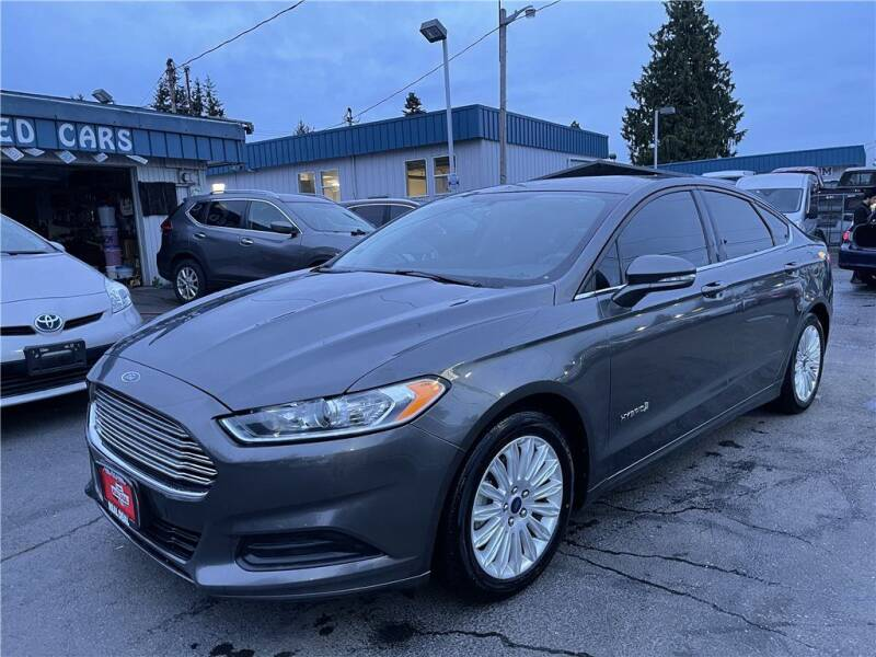 2016 Ford Fusion Hybrid for sale in Everett, WA