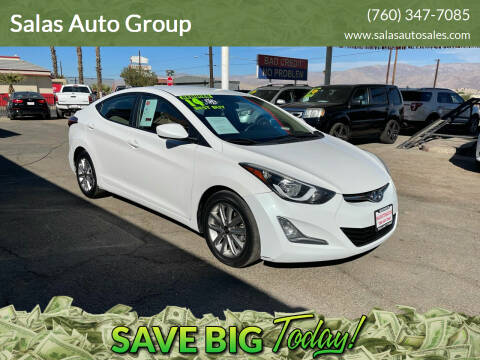 2014 Hyundai Elantra for sale at Salas Auto Group in Indio CA