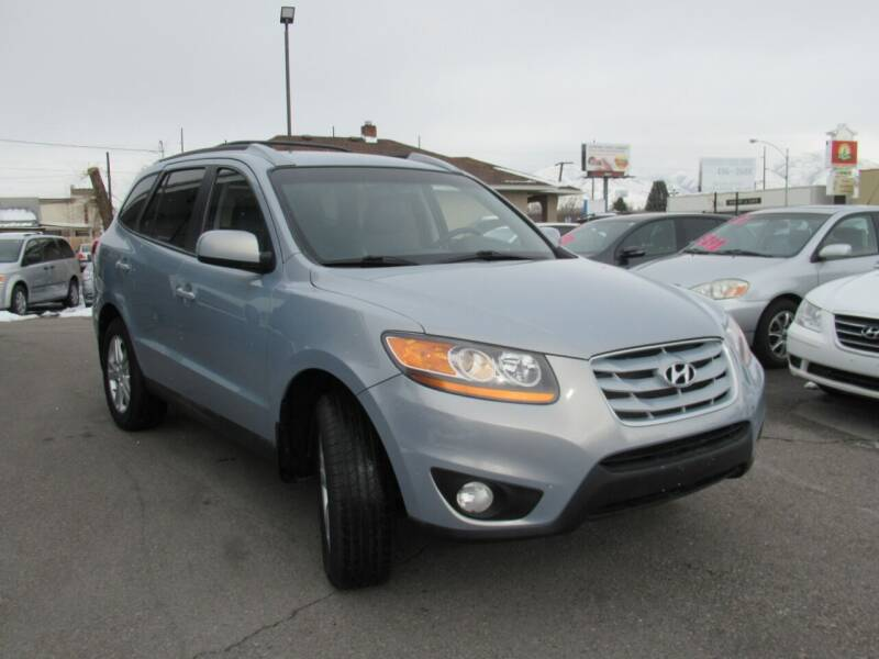 2010 Hyundai Santa Fe for sale at Crown Auto in South Salt Lake City UT